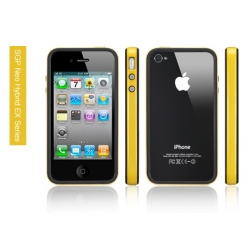 SGP iPhone 4 Case Neo Hybrid EX Series [Reventon Yellow] (SGP07025)